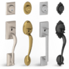 Thumb Latch Grip Front Door Handle Sets